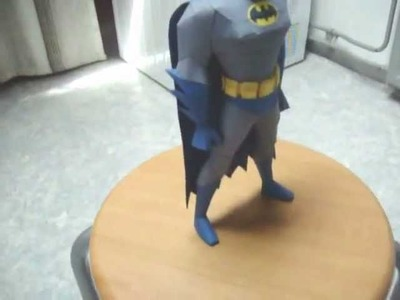 Batman TAS papercraft model