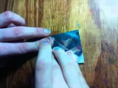 Como hacer una flor y una estrella perfecta--tecnica en origami♥