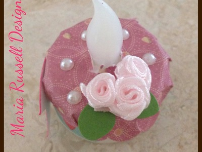 Craft Series - Decorate your LED Tea Lights for Any Occasion