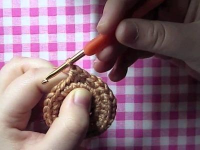 Craft tips : Amigurumi Invisible Decrease. disminución invisible en amigurumi
