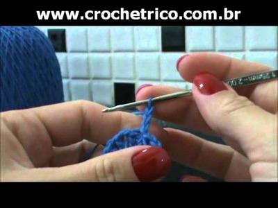 Crochet - Chapéu Infantil - Parte 01.03