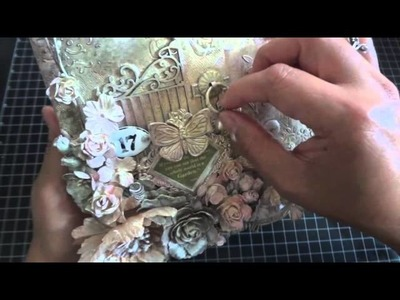 Discount Paper Crafts Design Team Call: Altered Mixed Media Canvas