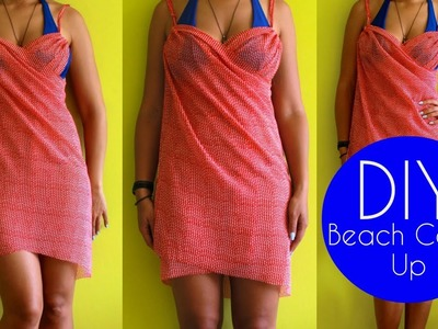 DIY Beach Cover Up | Sewing For Beginners