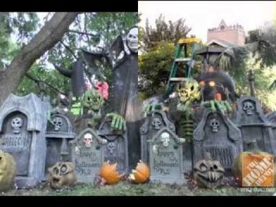 DIY Halloween yard decorating ideas