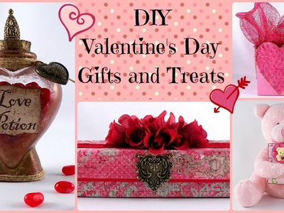 DIY Valentine's Day Gifts and Treats