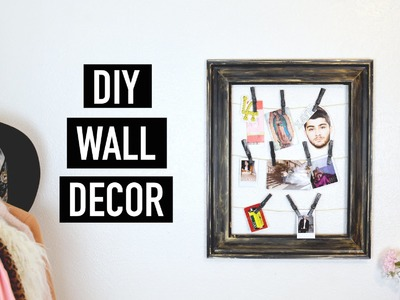 DIY Wall Decor | The Fashion Citizen