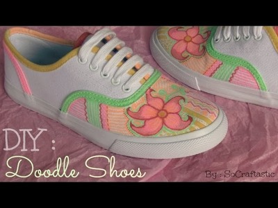 Doodle Shoes - Custom Canvas Sneakers - How To