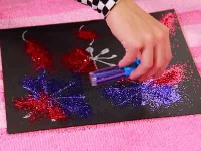 GLITTER FIREWORKS ~ Tea Time with Tayla, Episode 26!