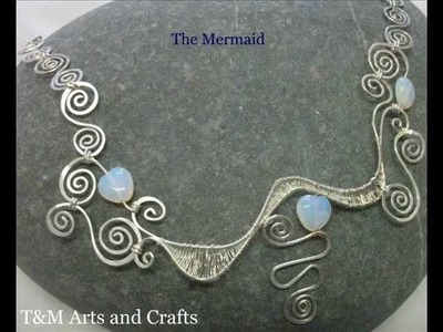 Handmade Silver Wire Jewellery by T&M Arts and Crafts