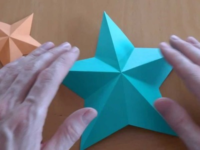 How do i fold a pentagram star? Origami tutorial