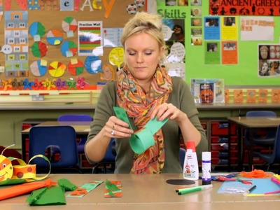 How to create a paper chain caterpillar – school crafting by Pritt