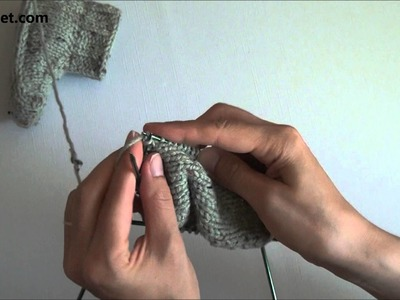 How to knit booties for babies and toddlers - video tutorial with detailed instructions.