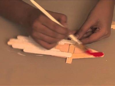 How to make a Santa Dangler - Arts and Crafts