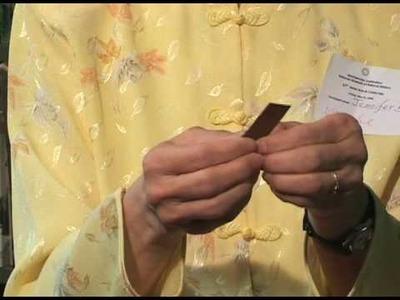 How to Make an Origami Paper Bull: Jennifer Bohlinger (Demonstration)