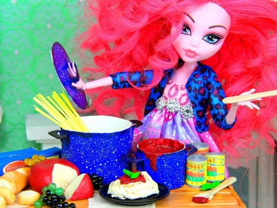 How to Make Doll Food : Pasta - Doll Crafts