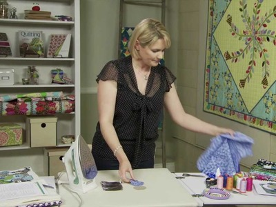 How to Make Perfect Appliqué Circles with Sarah Fielke, Quilting Instructor for Craftsy.com