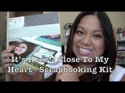 It's Here!! Close To My Heart - Scrapbooking Kit