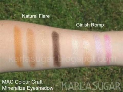 KarlaSugar's swatches of MAC Colour Craft