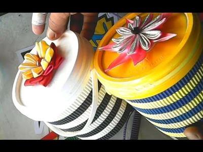 Kerajinan Tangan Dari Ember Bekas _ Crafts From Buckets Used
