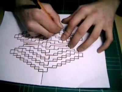 Kirigami Tutorial - Crazy X