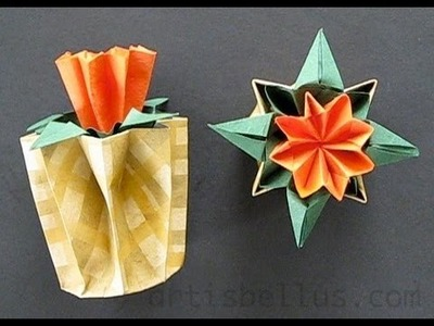 Kusudama Flower and Pot