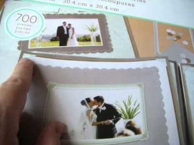 Martha Stewart Wedding Scrapbook kit