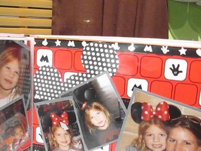 My Disney World Scrapbook