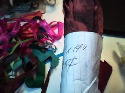 My Five Dollar Thrift Haul Challenge. Craft Supplies Haul.