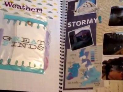 My red Smash*book 2014 - Smashbook ideas, scrapbooking, journaling, K & co Smash Book