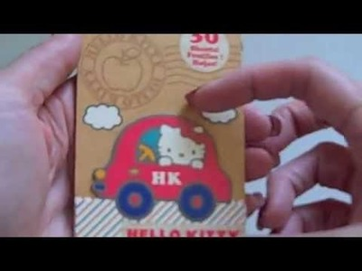 New Hello Kitty Scrapbooking Products!