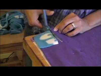 No Sew Fleece Blanket Tutorial