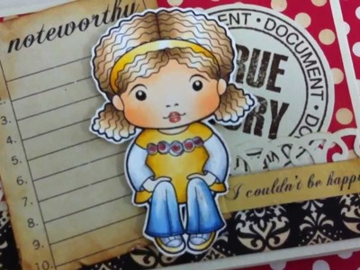 Noteworthy Handmade Book { La-La Land Crafts }