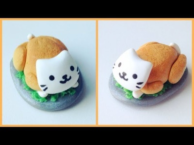 Nyanko Kitty in a Turkey (polymer clay)