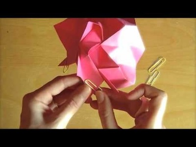 Origami Rose Tutorial - Part 2