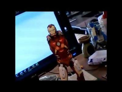 Paper-replika IRON MAN Mk7 paper-craft