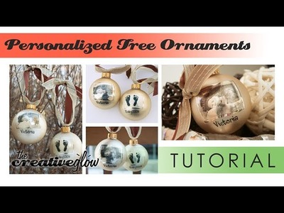 Personalized Christmas Ornament Tutorial - Great Gift Idea