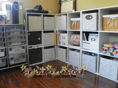 Stampin' Up Craft Room Update