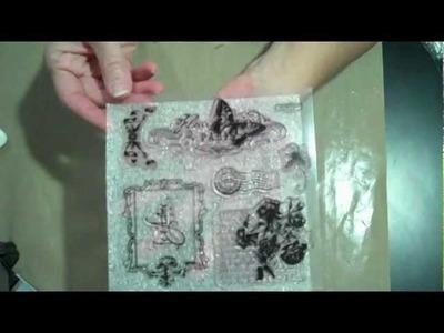 Stamping On Martha Stewart Craft Clay