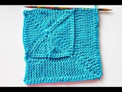 """Stricken * 10 Stitch Blanket """"eliZZZa"""" * Teil 1 * 10-Maschen-Decke * Wickelmaschen"""