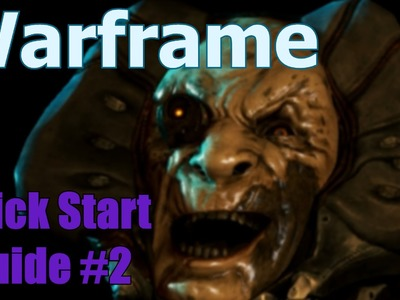 Warframe PS4 Release! Quick Guide #2 Mods, Crafting, and Mats  [1080HD]