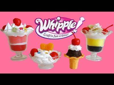 Whipple Ice Cream & Ice Cream Sundae Set Unboxing