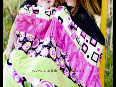 You can make the Perfect Minkee Cuddle Soft Quilt!