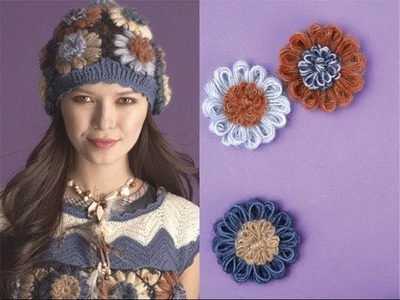 #10 Flower Hat, Vogue Knitting Early Fall 2011