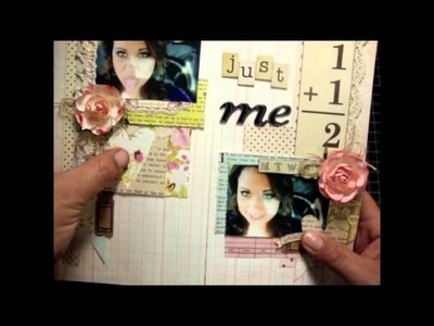 All About Me Layout- November YouTube Layout Hop-