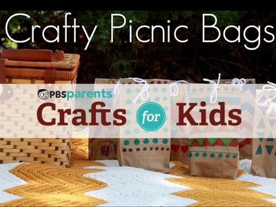 Colorful Picnic Bags | Crafts for Kids | PBS Parents