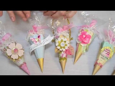 Crafting with Brenda Walton: Creating a faceted cone