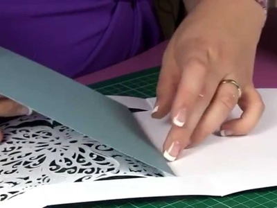 Create-a-Card : Lace Butterfly