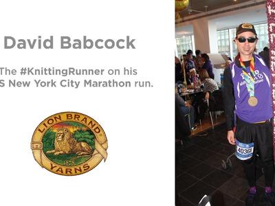 David Babcock the #knittingrunner