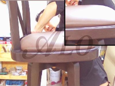 DIY: BAR STOOL SEAT - ALOWORLD
