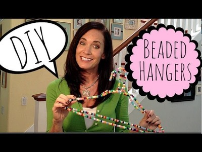 DIY Beaded Hangers | by Michele Baratta